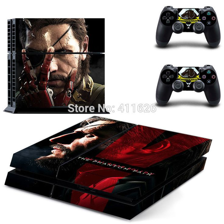 Metal Gear Solid V 5: The Phantom Pain Skin for PS4