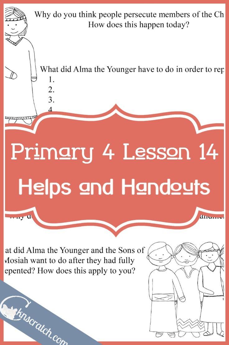 Lesson 14 Alma The Younger And Sons Of Mosiah Repent
