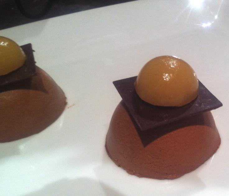 Dômes poires chocolat 2