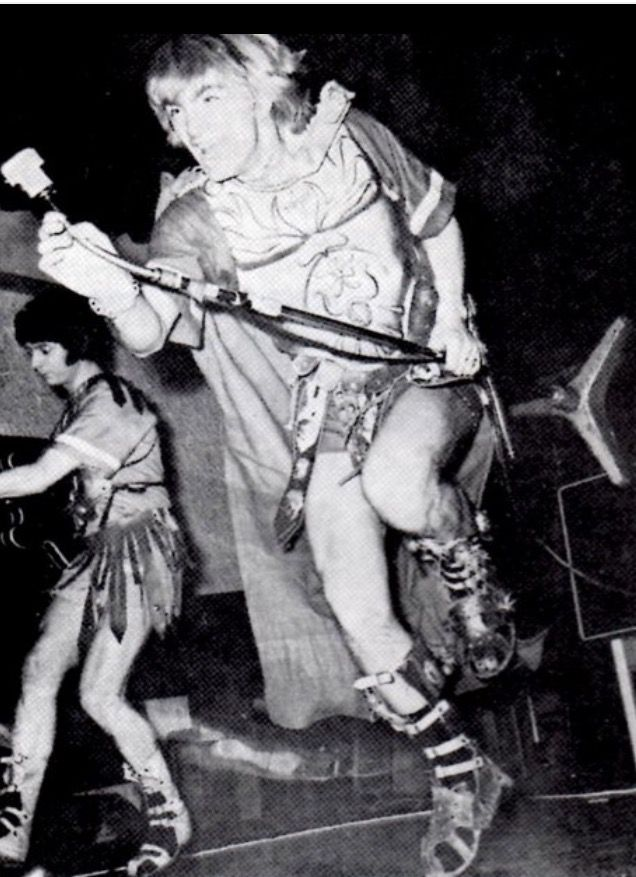 Ritchie Blackmore with Screaming Lord Sutch