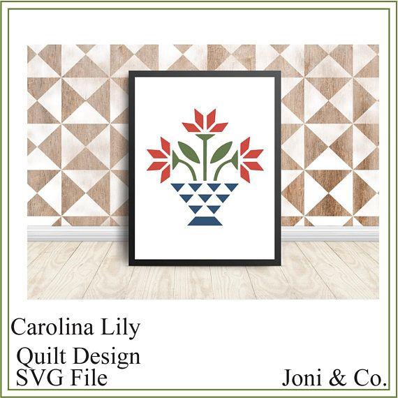 svg quilt cricut lily