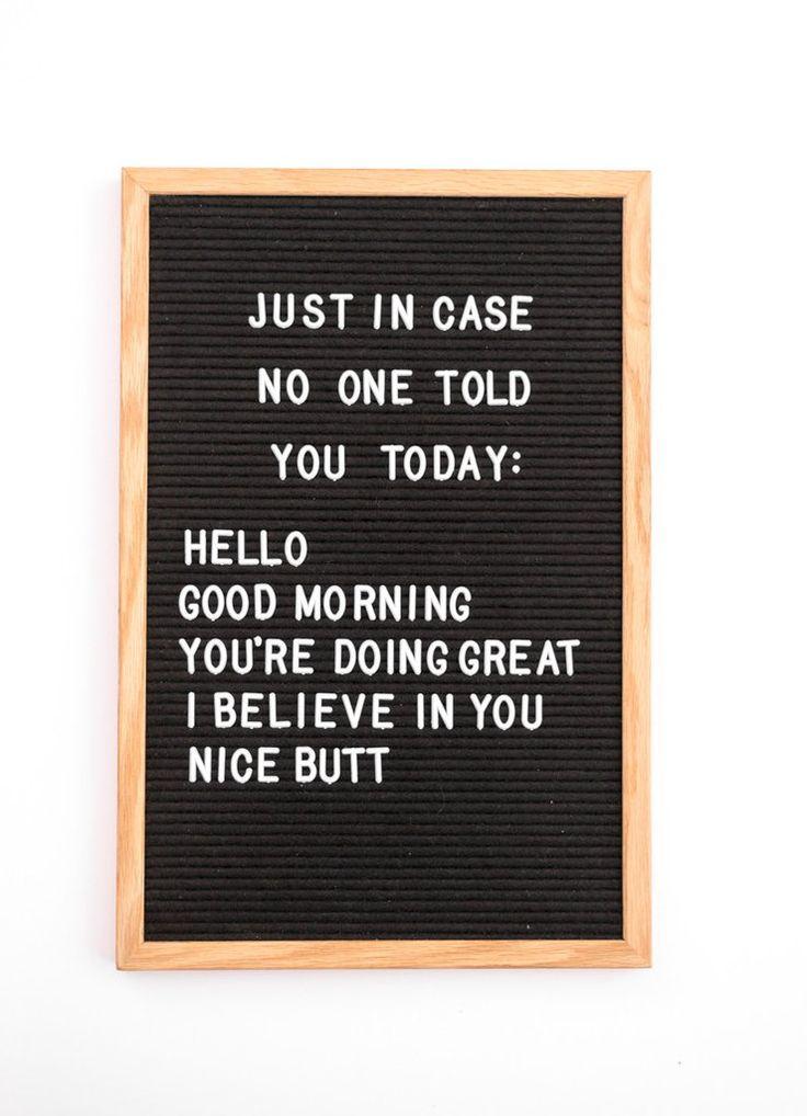 155 best customer satisfaction images on pinterest customer 12 x 18 classic black felt letter board fandeluxe Choice Image