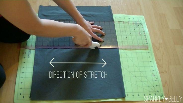 Cut fabric rotary cutter