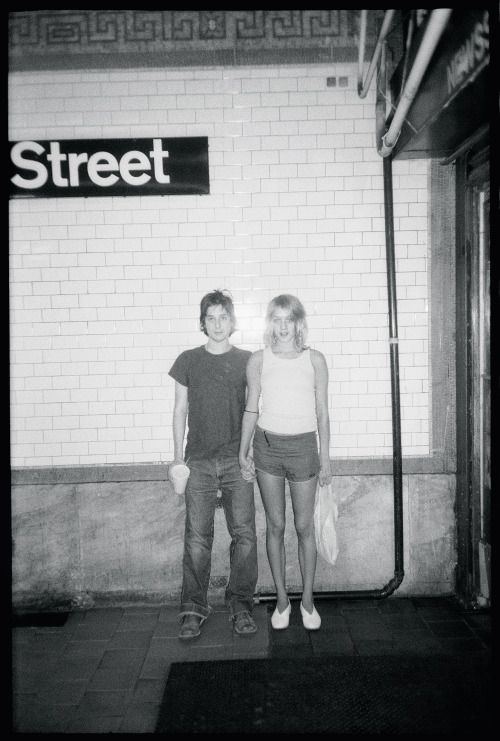 Harmony Korine and Chloë Sevigny in 1997 by Mary Frey.