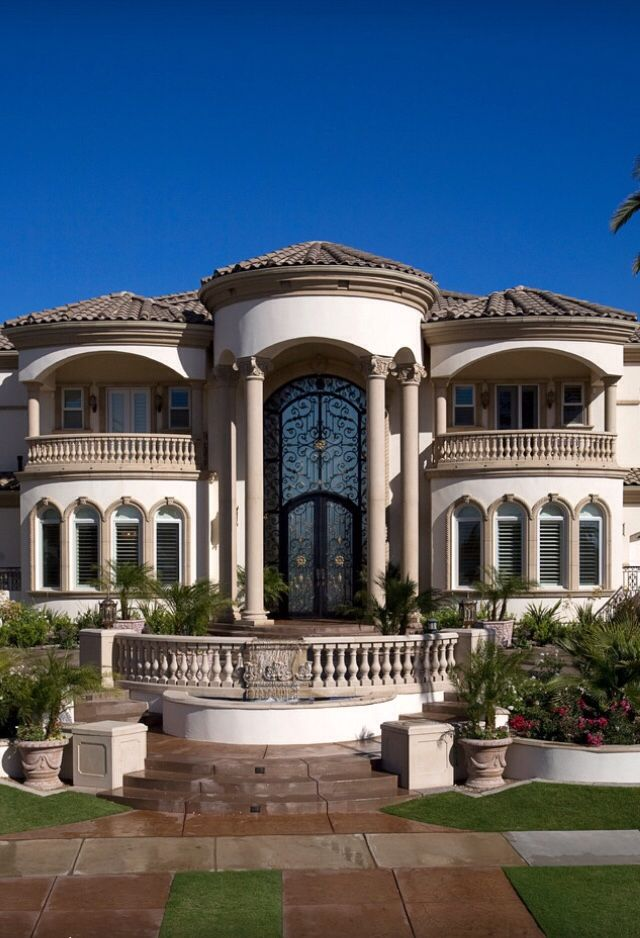 Luxury House Front 1393 best mansion images on pinterest | dream houses, architecture