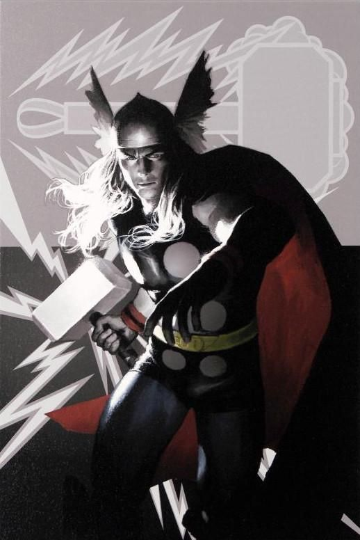 Wolverine Avengers Origins: Thor #1 & The X-Men #2 - Limited Edition Giclee on Stretched Canvas by Al Barrionuevo