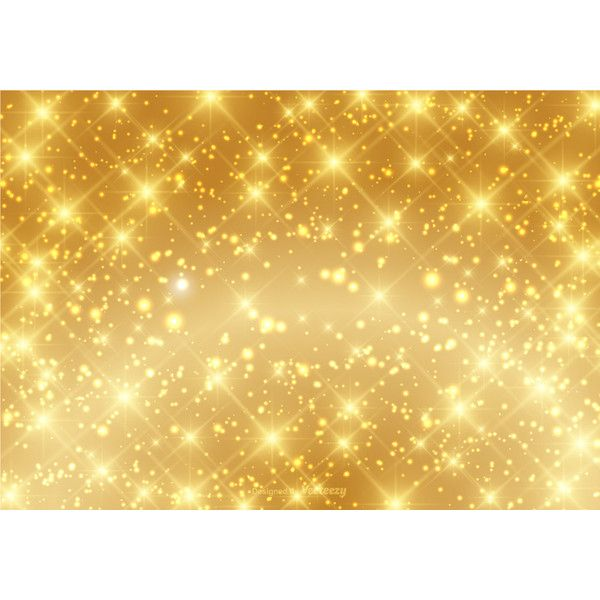 Beautiful Gold Sparkle Background Vector ❤ liked on Polyvore featuring backgrounds