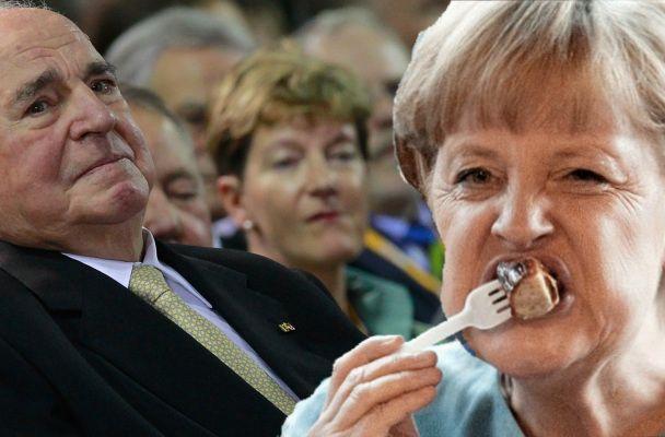 Helmut Kohl: Angela Merkel frisst am Tisch wie ein Schwein | Anna Schuster Blog