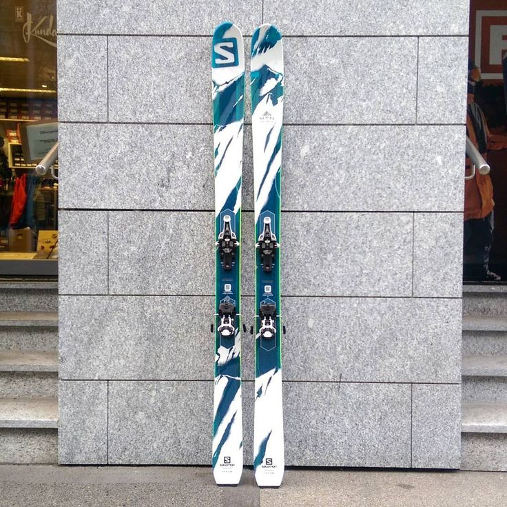 One of the skis that got the most love at the yesterdays ski test in Andermatt. #salomonfreeski #fritschivipec #earnyourturns