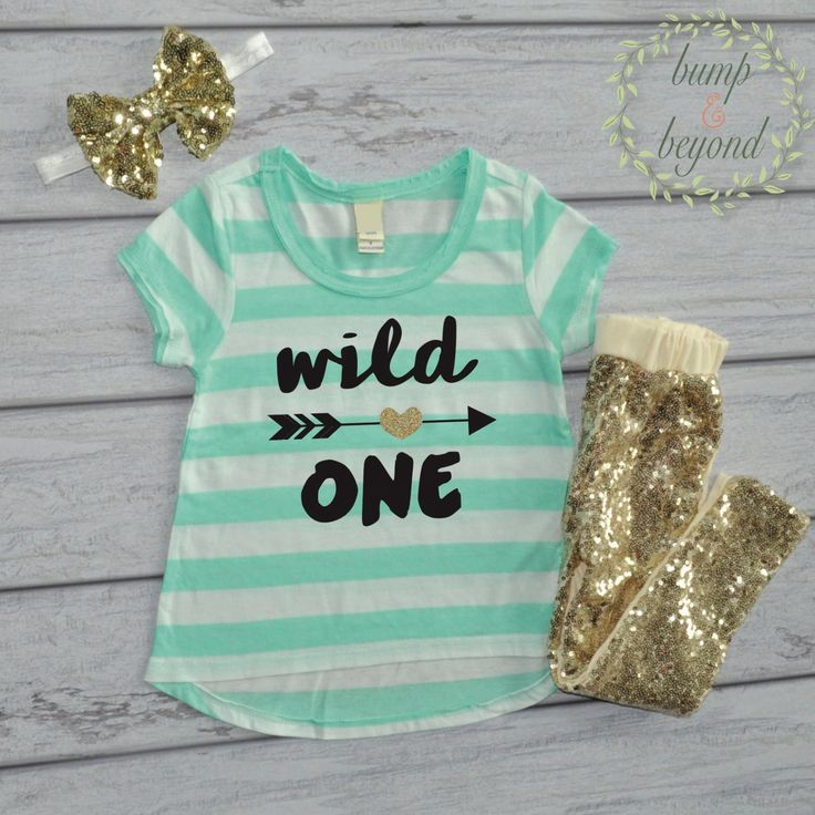 141 best products images on pinterest baby shirts christmas wild one birthday shirt girl 1st birthday outfit first birthday t shirt pants headband set negle Image collections