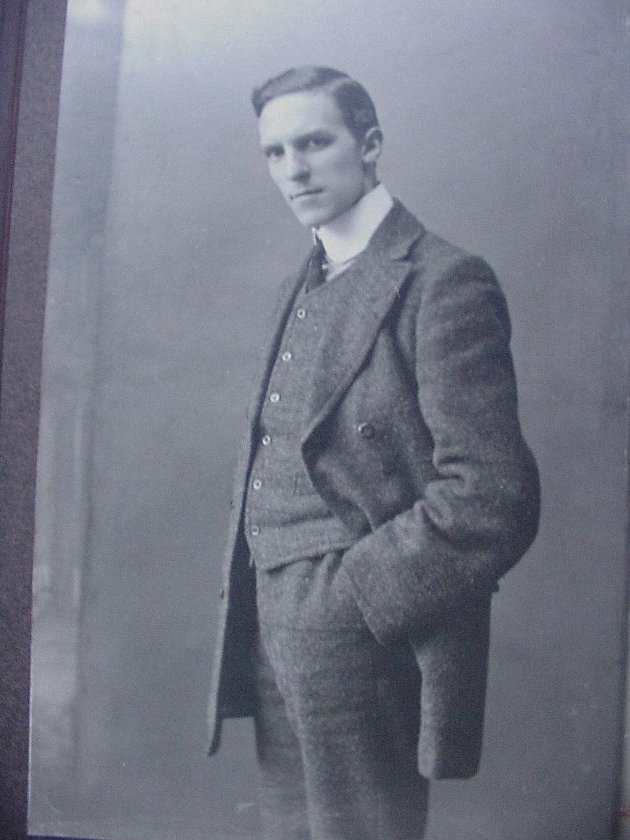 William Henry Marsh Parr joined Harland & Wolff in 1910, just in time to become an assistant manager in the electrical department for Olympic and Titanic. He supervised electrical installations on both ships.     Letters indicate that after the collision with the iceberg, Parr was working diligently in the engine room, keeping the lights running until the ship's final moments.