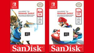Nintendo partners with Western Digital on officially licensed Switch SanDisk Memory Cards