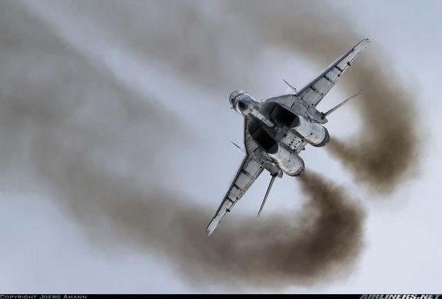 MiG 29UB Fulcrum. Polish Army.