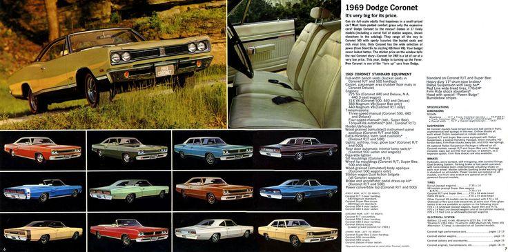 1969 Dodge Coronet Muscle Car Ads Pinterest Muscle