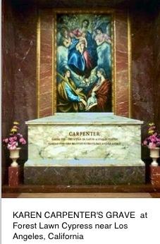Karen Carpenter singer grave site