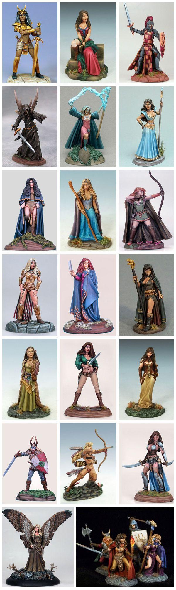Dark Sword Miniatures : Elmore Masterworks