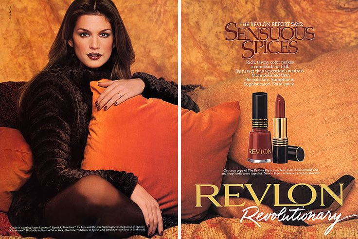 1994 Revlon Cindy Crawford