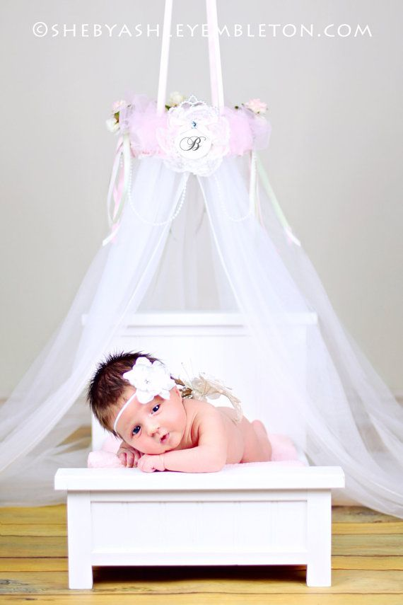 PHOTO PROP Bed Canopy Crown Ring Dress Up By SoZoeyBoutique, $38.97