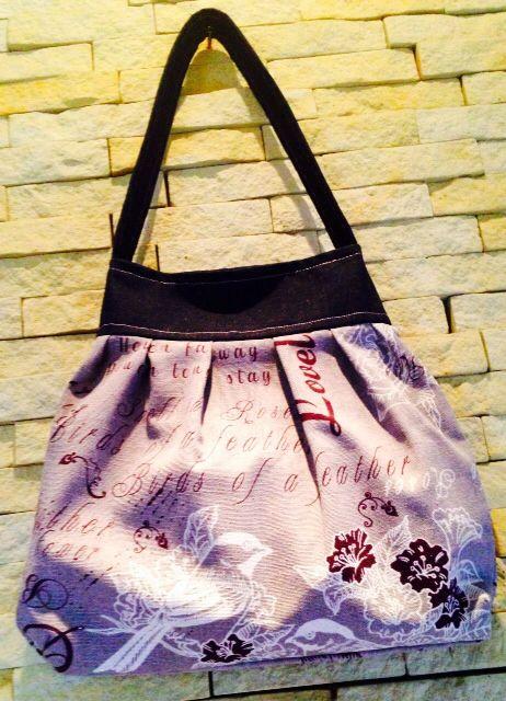 Handbag, made with love. For my dearest friend Christina