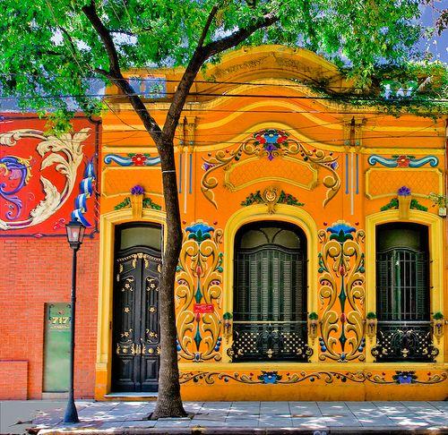 Fileteado del Abasto by Ricardo Bevilaqua, via Flickr  Buenos Aires, Argentina