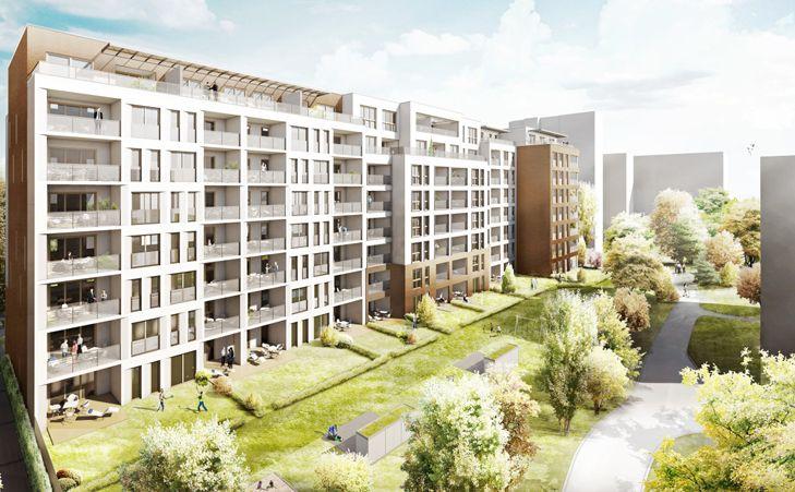 das neubauprojekt mannheim wohnpark niederfeld berzeugt mit komfortablen 2 bis 4 zimmer. Black Bedroom Furniture Sets. Home Design Ideas
