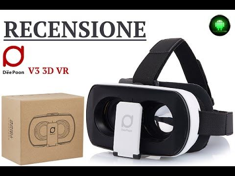 cool DeePoon V3 3D, recensione dei VR economici by Tecnoandroid.it