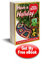 134 best free craft ebooks images on pinterest craft projects have a red heart holiday 20 knit crochet gifts and decorating ideas fandeluxe Document