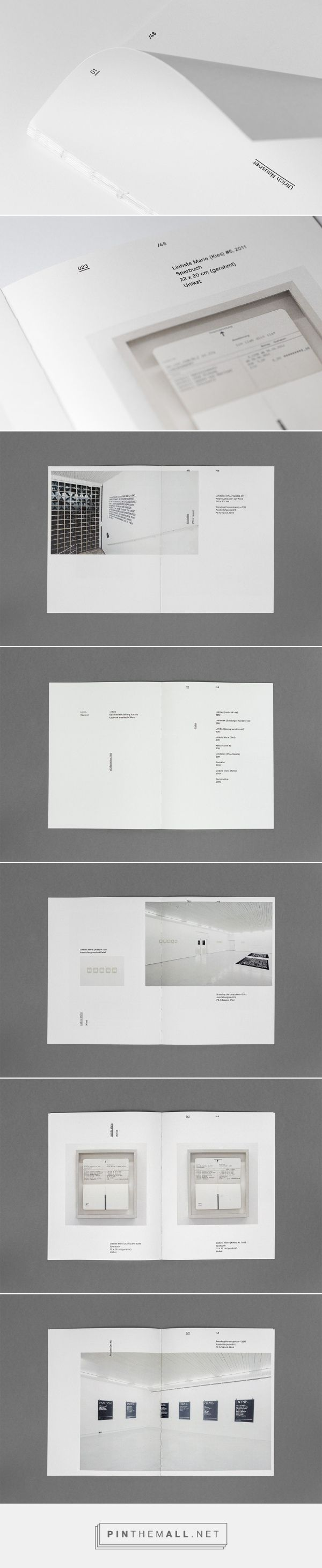 Minimalistic design layouts which would work well for a professional portfolio too.