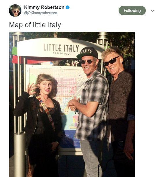 Kimmy Robertson, Dana Ashbrook and Everett McGill in San Diego Twin Peaks #SDCC 2017