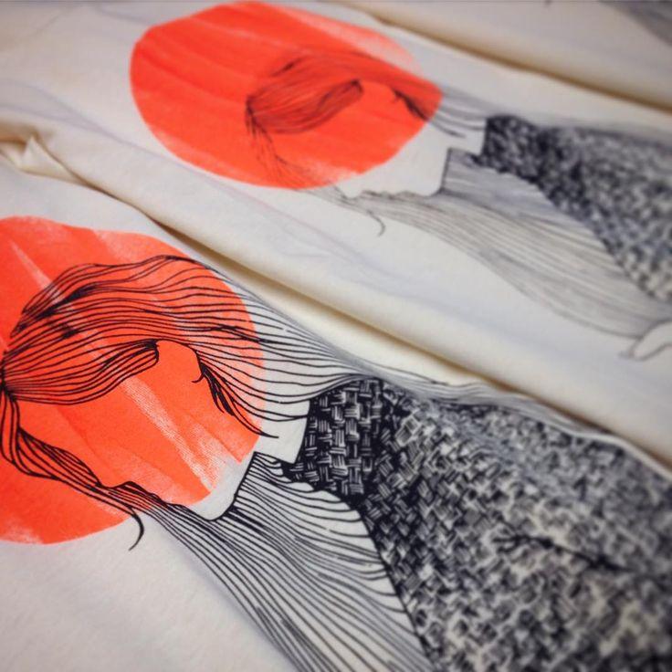 Handmade print Limited collection Single pieces SzertArt
