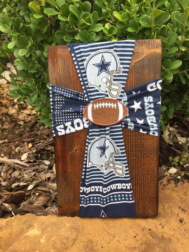 Dallas Cowboys Fabric Cross, Dallas Cowboys Baby Room Decor, Dallas Cowboys Gift for Men, Cowboys Football, Kids Room Decor, Cowboys Fan by FabricCrossDecor on Etsy