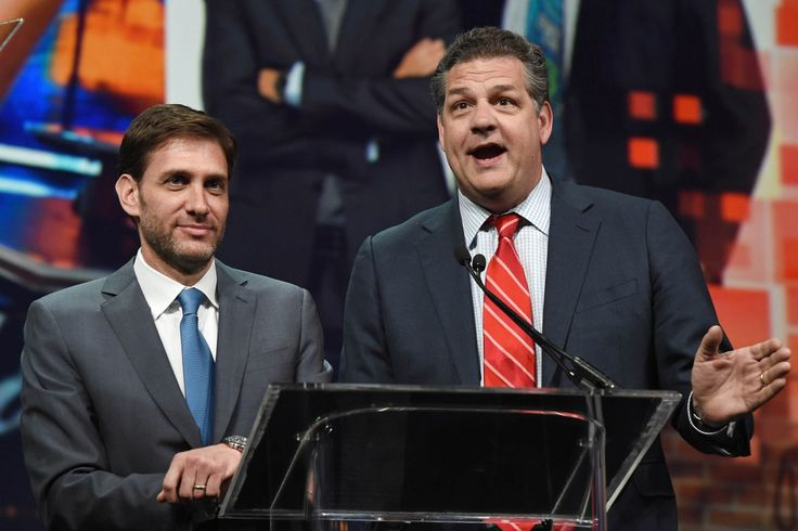 """Start the countdown for when two Mikes become none. Mike Golic and Mike Greenberg will share their names on ESPN's """"Mike & Mike"""" for a last time on Friday, Nov. 17, the networ…"""