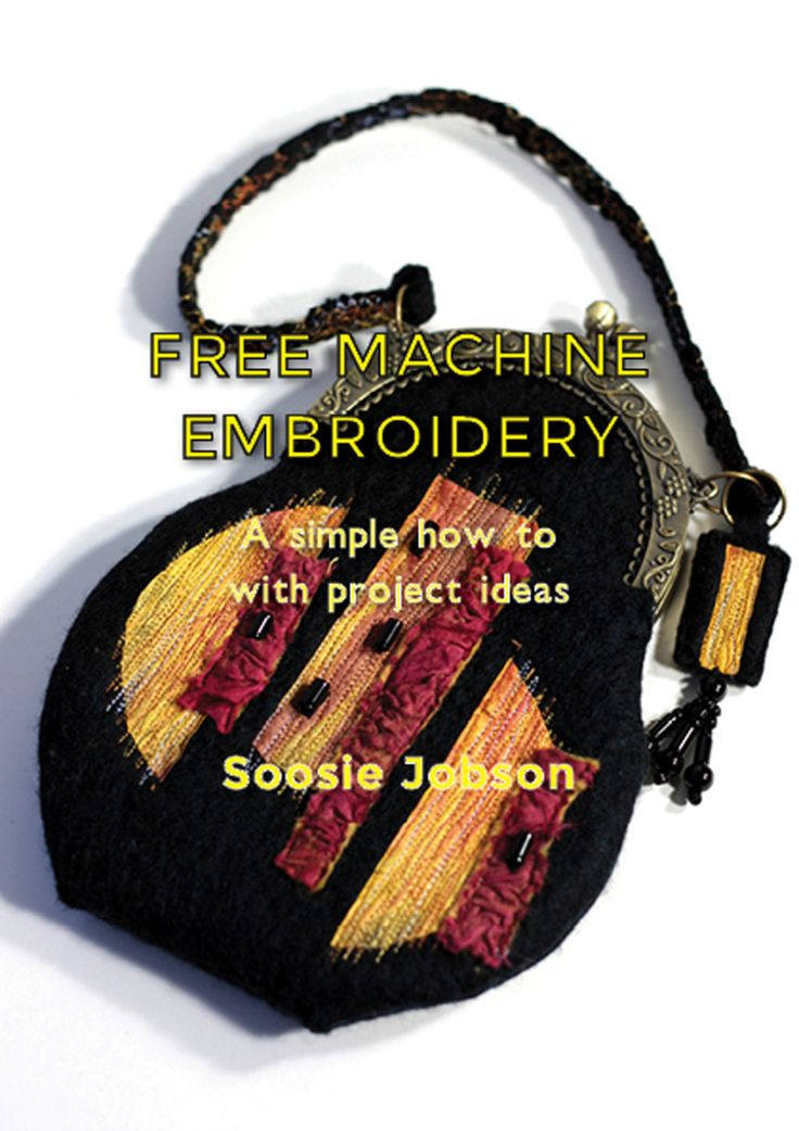 How to free machine embroider - paint pictures with your sewing machine PDF Version - pinned by pin4etsy.com