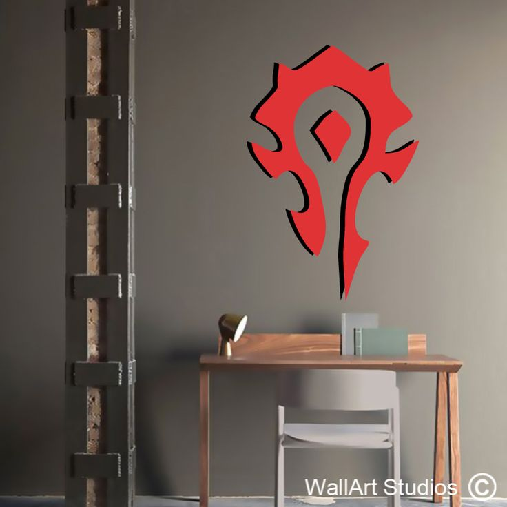 World of Warcraft Horde Wall Decal