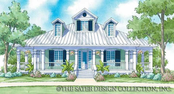 """Sater Design's """"Camden Place"""" house plan from our Cottage Home Plan Collection..."""