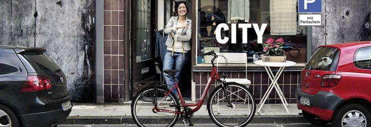 Okładka City - Rowery miejskie