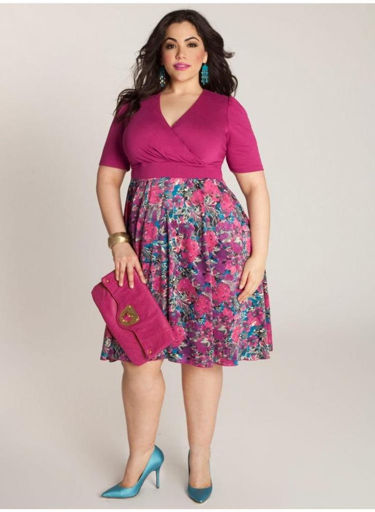 Plus Model: Nicole Zepeda,   Agency: MSA Models in NY & LA    Ellie Dress. IGIGI by Yuliya Raquel. www.igigi.com