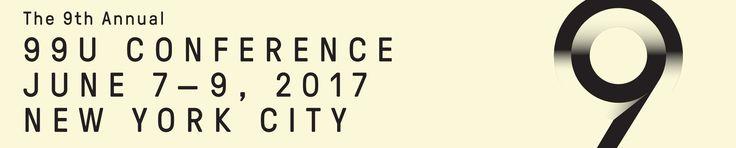 99U Conference 2017