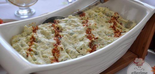 Cevizli Tavuklu Kereviz Salatası Tarifi