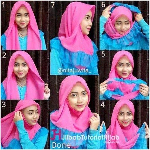 Tutorial Hijab Segitiga Tanpa Ninja Cara Lif Co Id