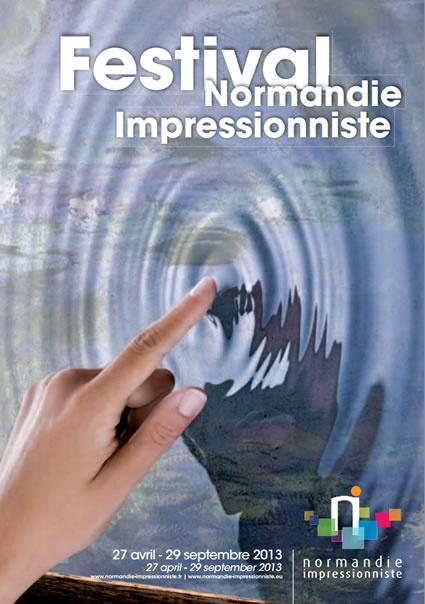 Normandie Impressionniste 2013 sur 5 départements et 2 régions