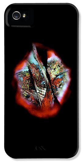 Fade Away IPhone 5 / 5s Case Printed with Fine Art spray painting image Fade Away by Nandor Molnar (When you visit the Shop, change the orientation, background color and image size as you wish)
