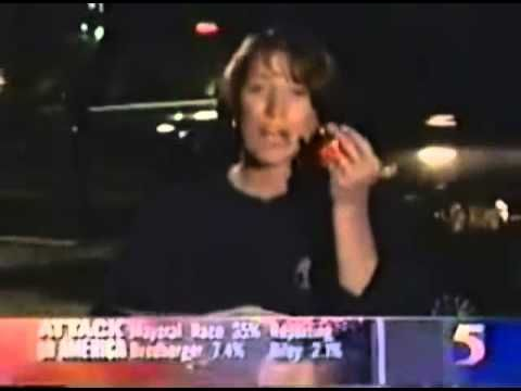 ▶ 9/11 UA Flight 93 Banned Newscast - YouTube ... Interesting 2 impact locations? the woman is showing a hole in the ground within a patch of trees. The man shows the area we're use to seeing in the open near trees (gouge in the ground was seen in a 1994 photo). Completely different areas about 6-10miles distance from each other.