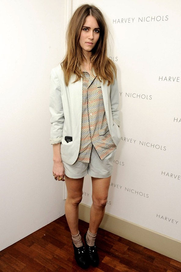 Jade Williams at the Harvey Nichols summer fashion show - celebrity fashion