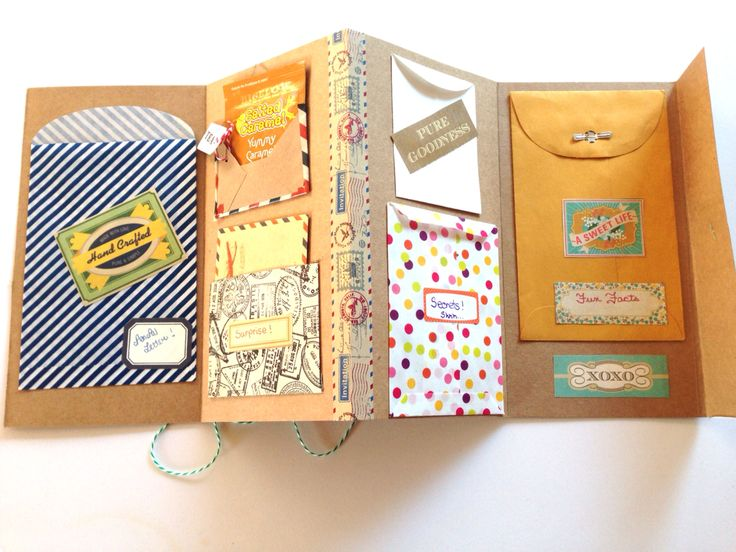 Accordian Letter Project - good travel scrapbook idea
