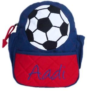 Soccer Junior Backpack - Boys