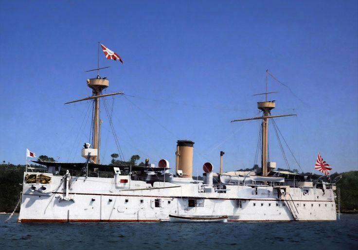 Imperial Japanese Navy Battleship Fuso I 1897 Yokosuka