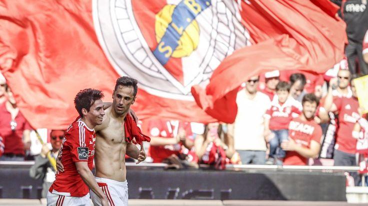 Gaitán e Jonas, SL Benfica