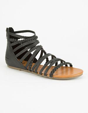 BILLABONG Sunset Lover Womens Sandals Black
