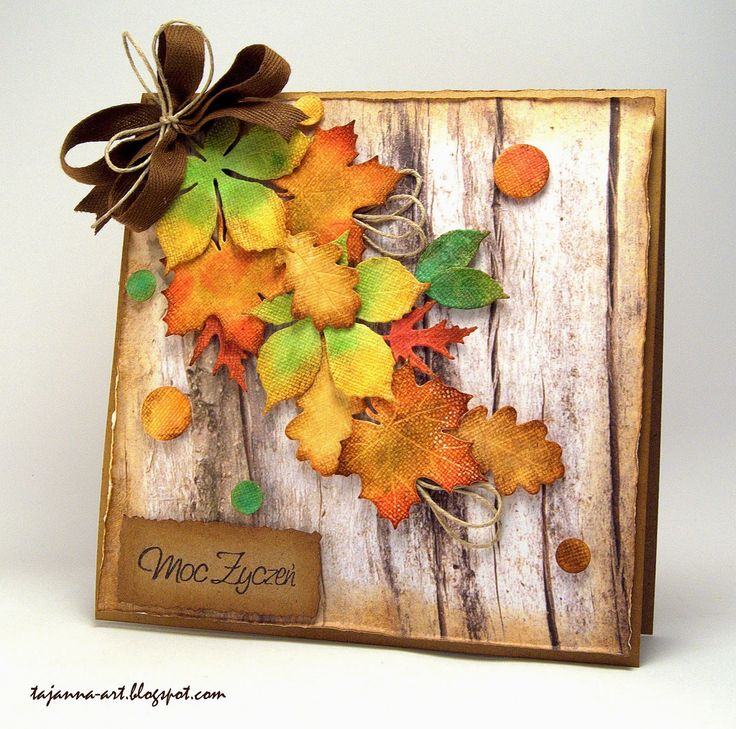 autumn card by Tajanna